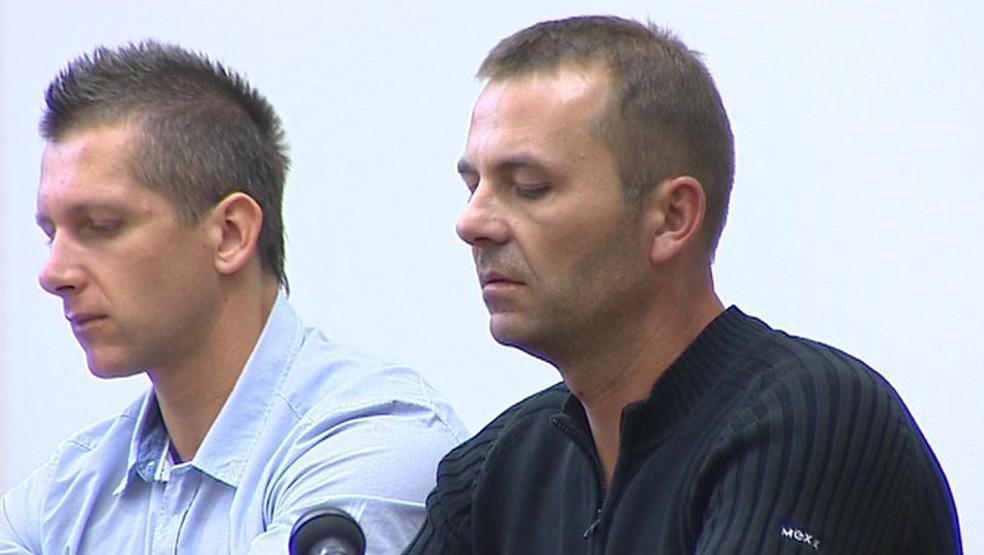 Petr Bošuk (vlevo) a Martin Nývlt (vpravo)
