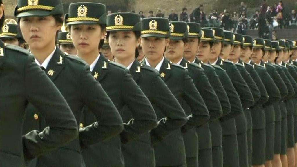 Příslušnice jihokorejské armády