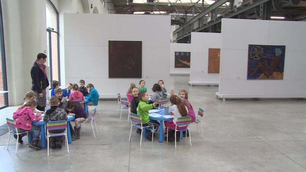 Děti ve Wannieck Gallery