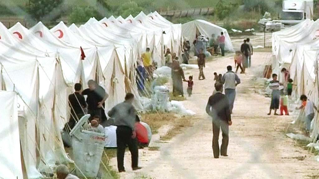 Uprchlický tábor v Turecku