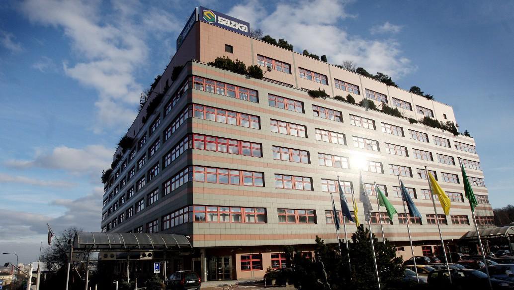 Budova Sazky v Praze Vysočanech