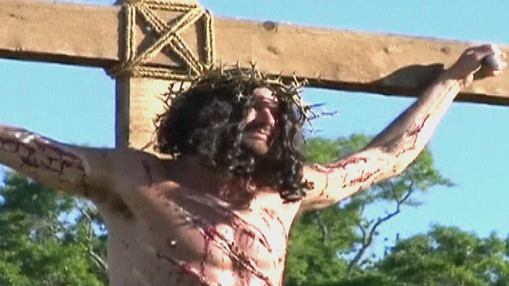 Muž na Kříži