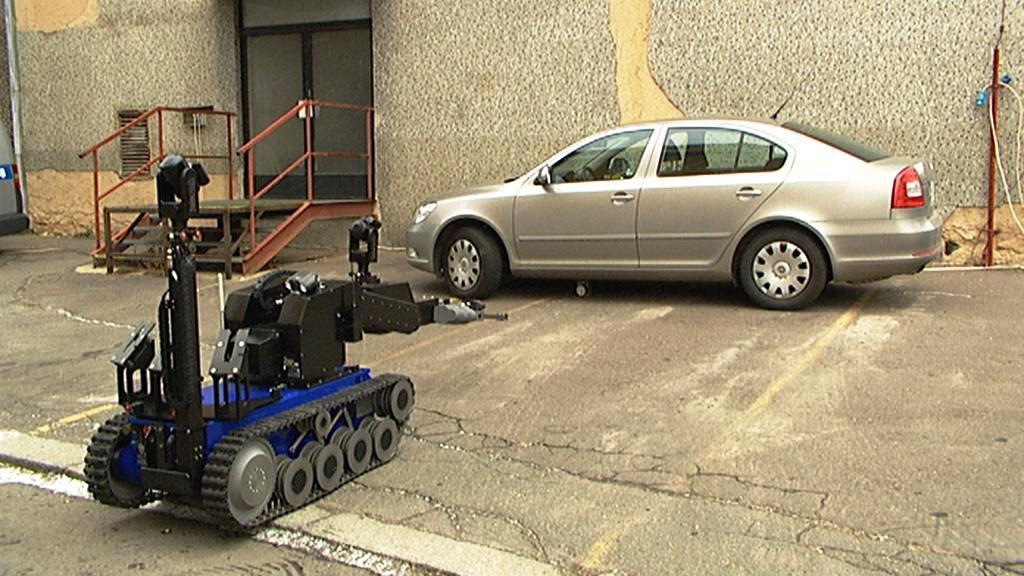 Robot na zneškodňování výbušnin