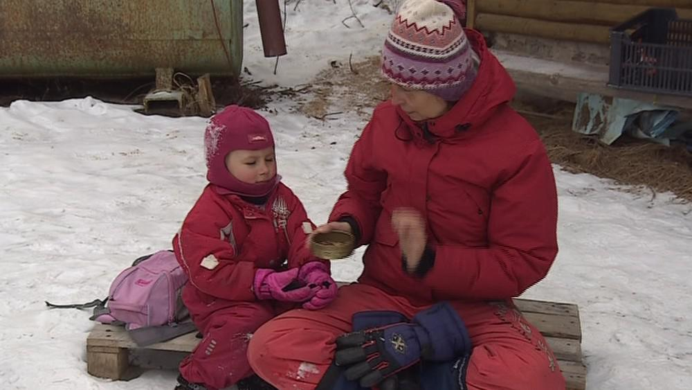 Většinu dne tráví děti z lesních školek venku