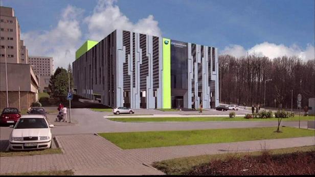 Vizualizace nového IT centra