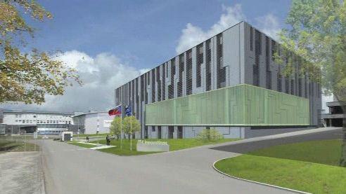 Projekt nové budovy pro superpočítač