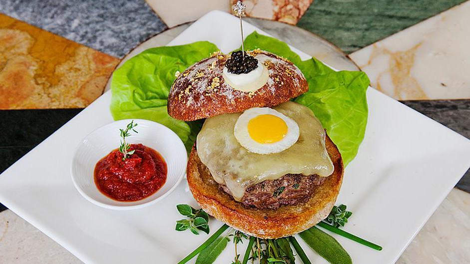 Nejdražší hamburgery světa