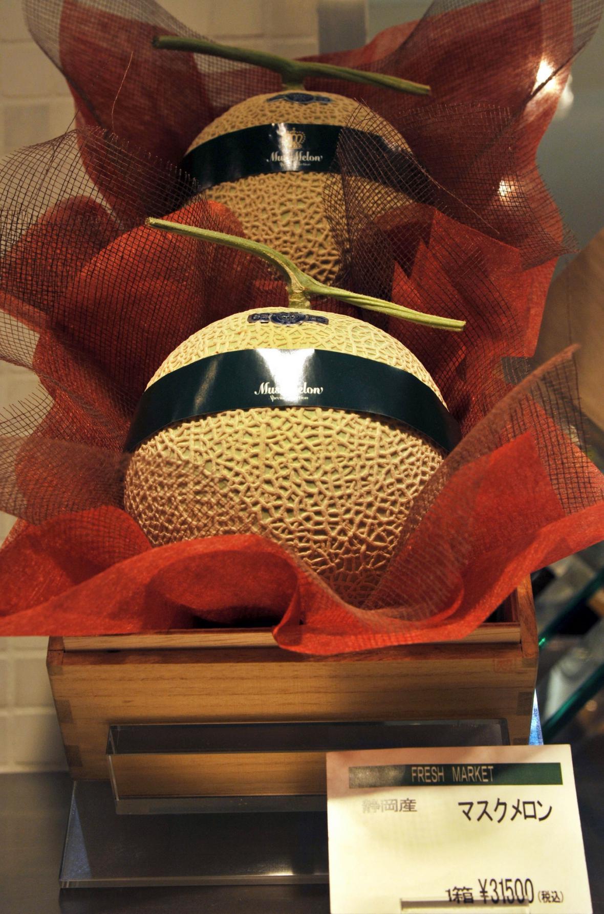 Japonský meloun za 2 500 korun