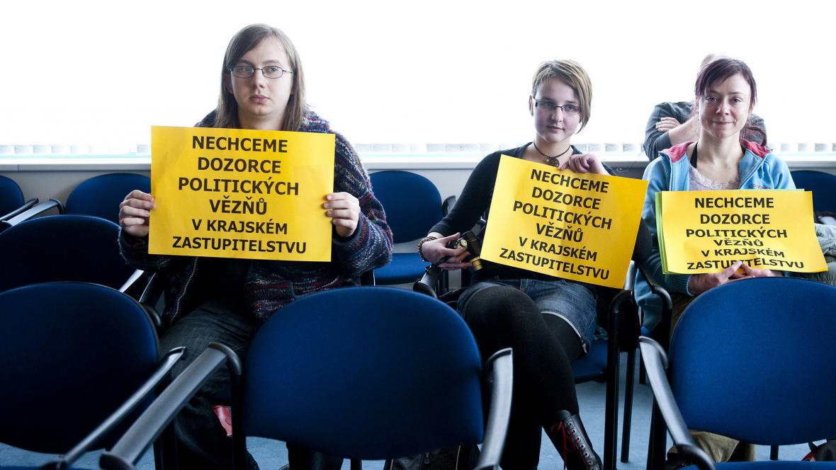 Protest proti Vondruškovi
