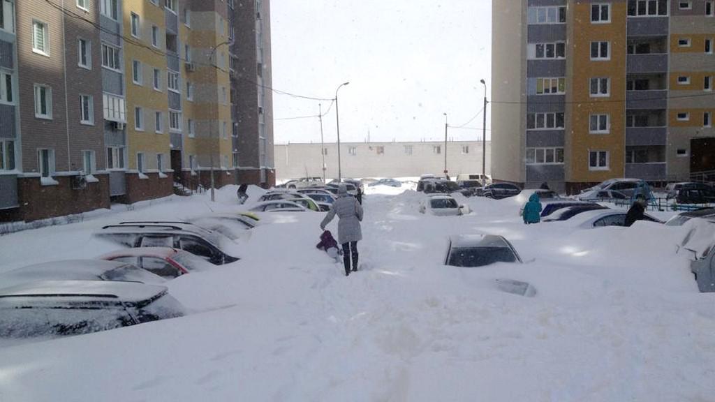 Kyjevská ulice, 25. 3. 2013