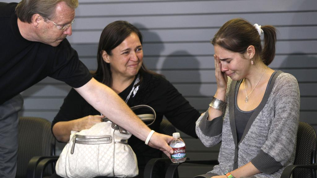 Amanda Knoxová po návratu do USA