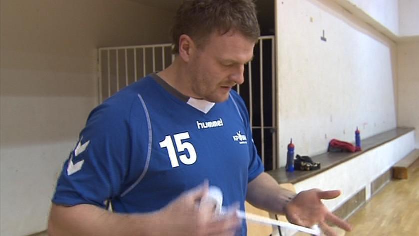 Michal Dostalík na tréninku