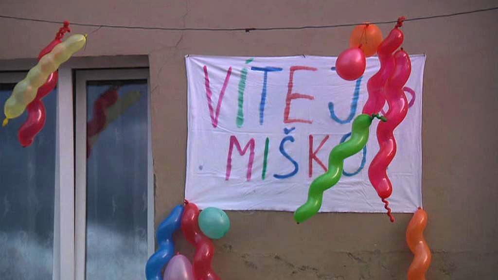Vítání unesené Michalky v Trmicích