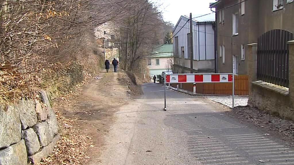 Místní silnice byla uzavřena