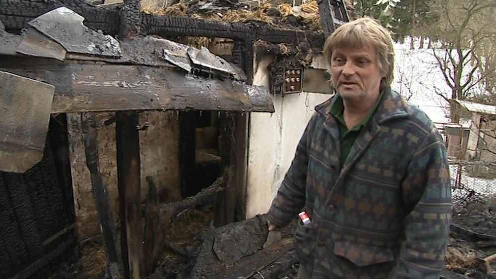 Padesátiletému Vladimíru Malinovi změnil noční požár celý život