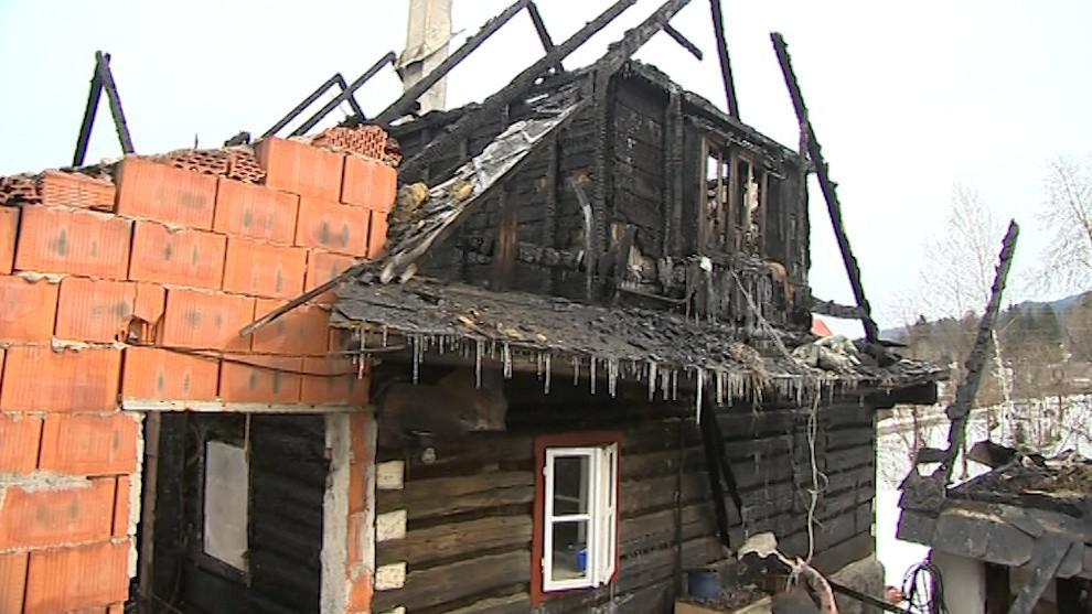 Požár naštěstí nikoho vážněji nezranil