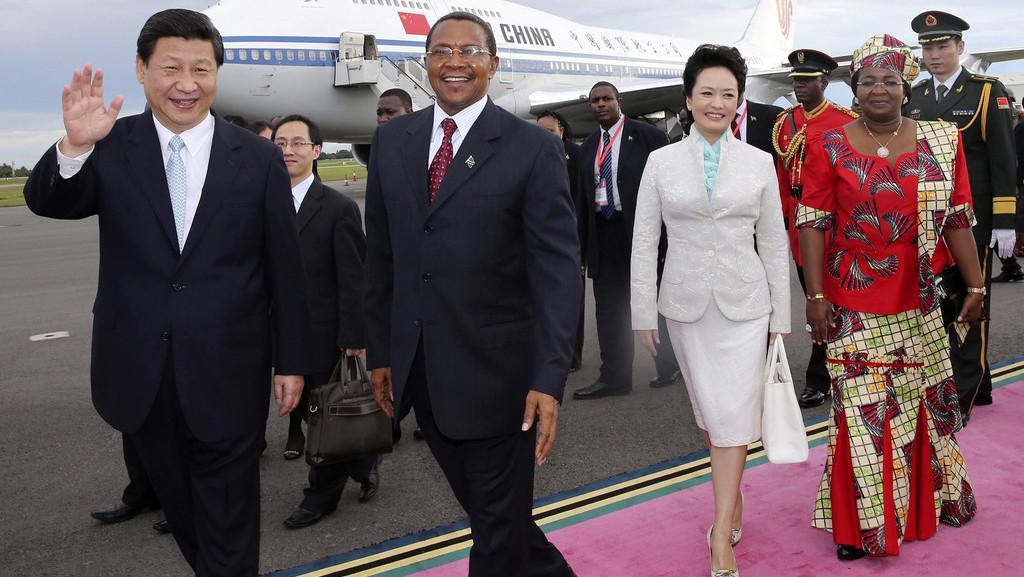 Čínský prezident v Africe