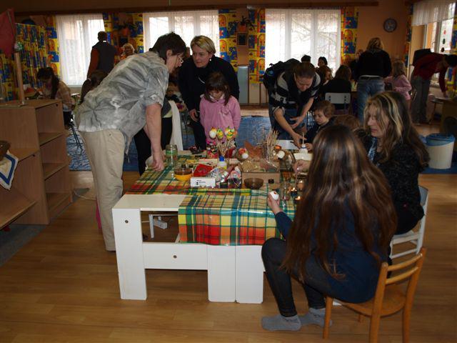 Velikonoční dílna v Plavsku