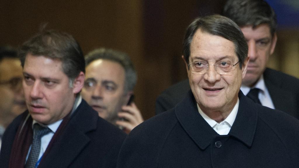 Nicos Anastasiades po jednání s lídry eurozóny