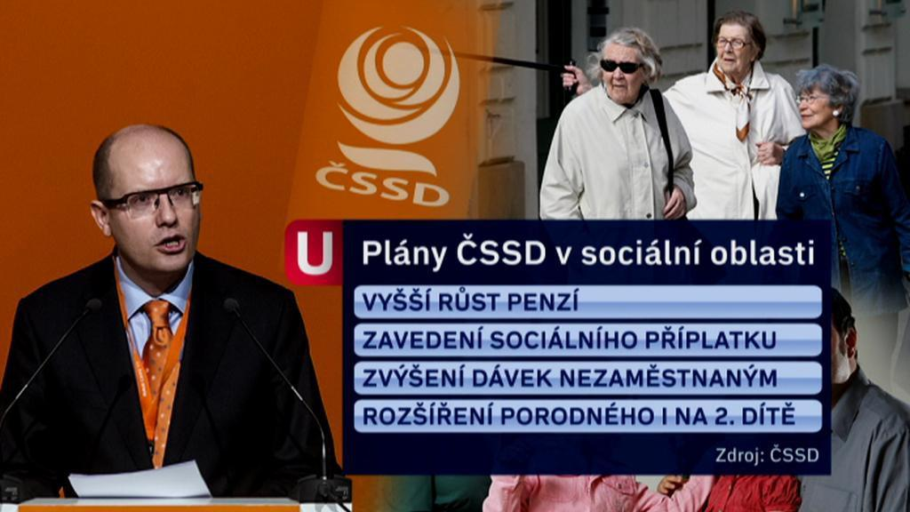 Dávky a sociální podpora podle ČSSD