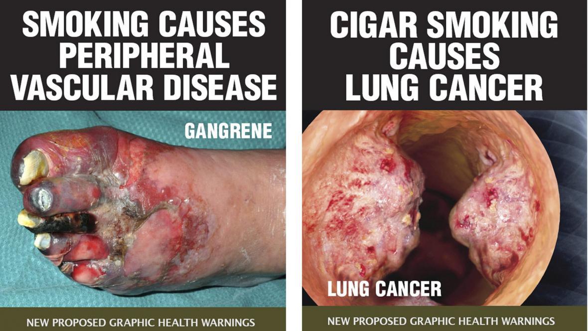 Návrhy cigaretových krabiček v Austrálii