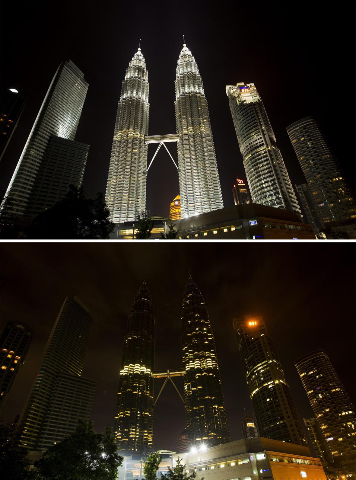 Hodina Země - Kuala Lumpur