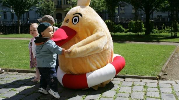 Kuře Pomozte dětem