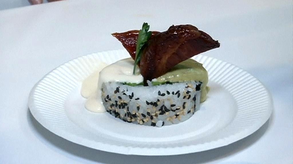Veletrh sushi v Tokiu