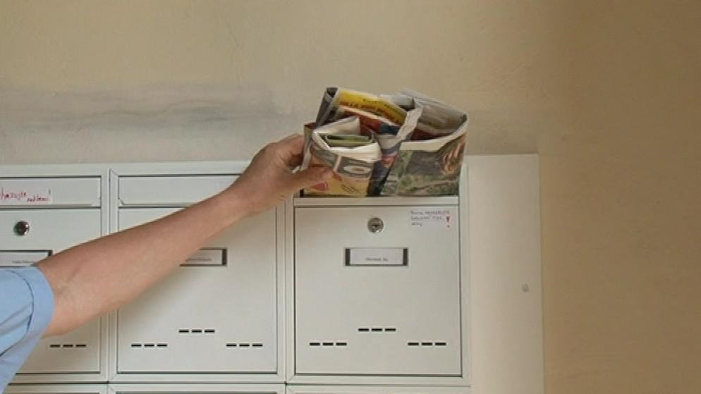 Plná schránka zloděje upozorní, že nikdo není doma