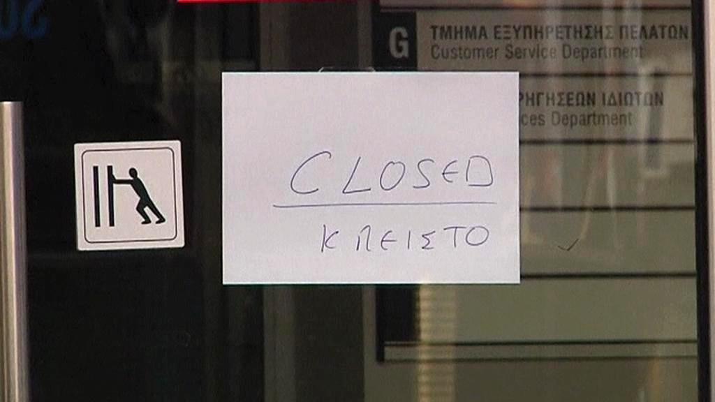 Uzavřená banka