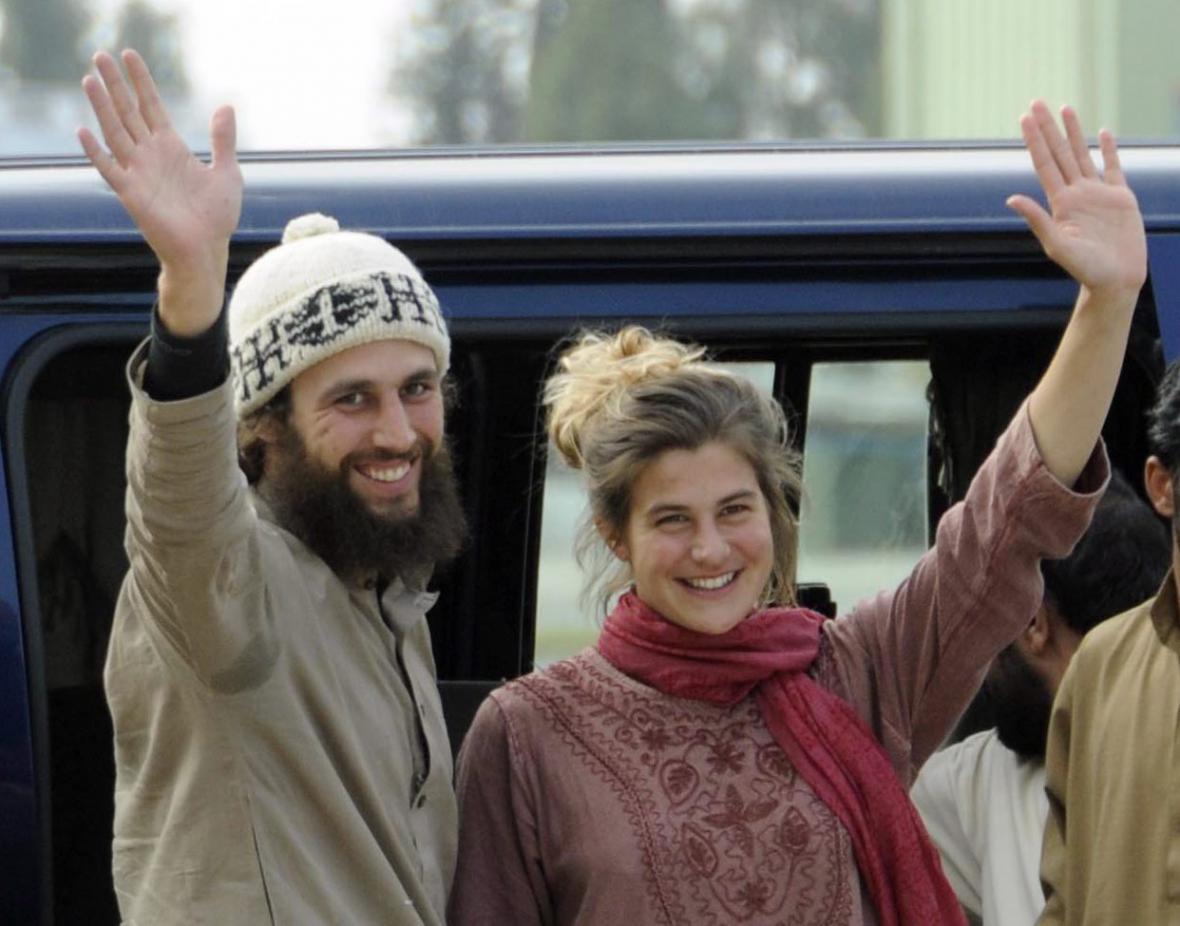 Widmerová a Och po návratu z Pákistánu