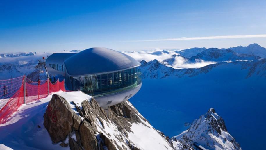Wildspitzbahn v Tyrolsku, Rakousko
