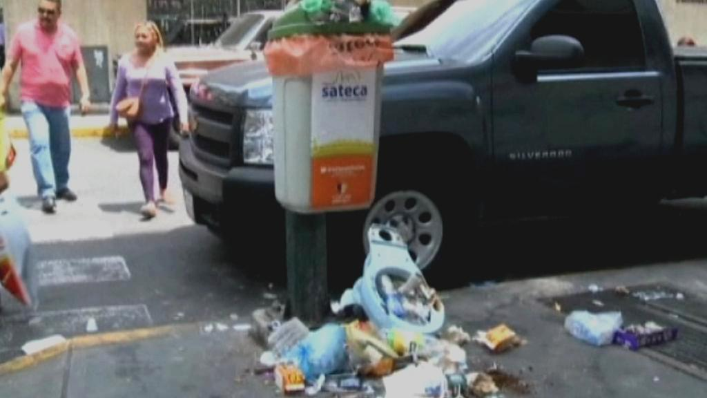 Odpadky v Caracasu
