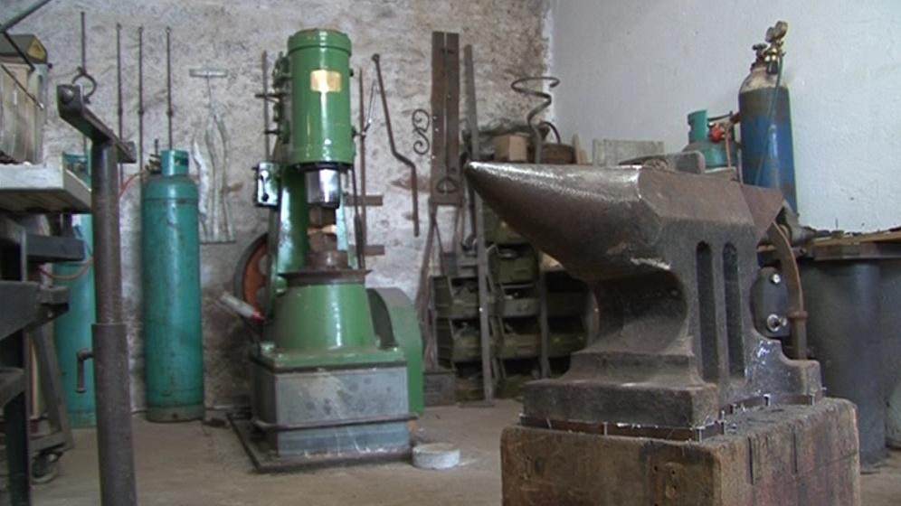 Vybavení kovárny