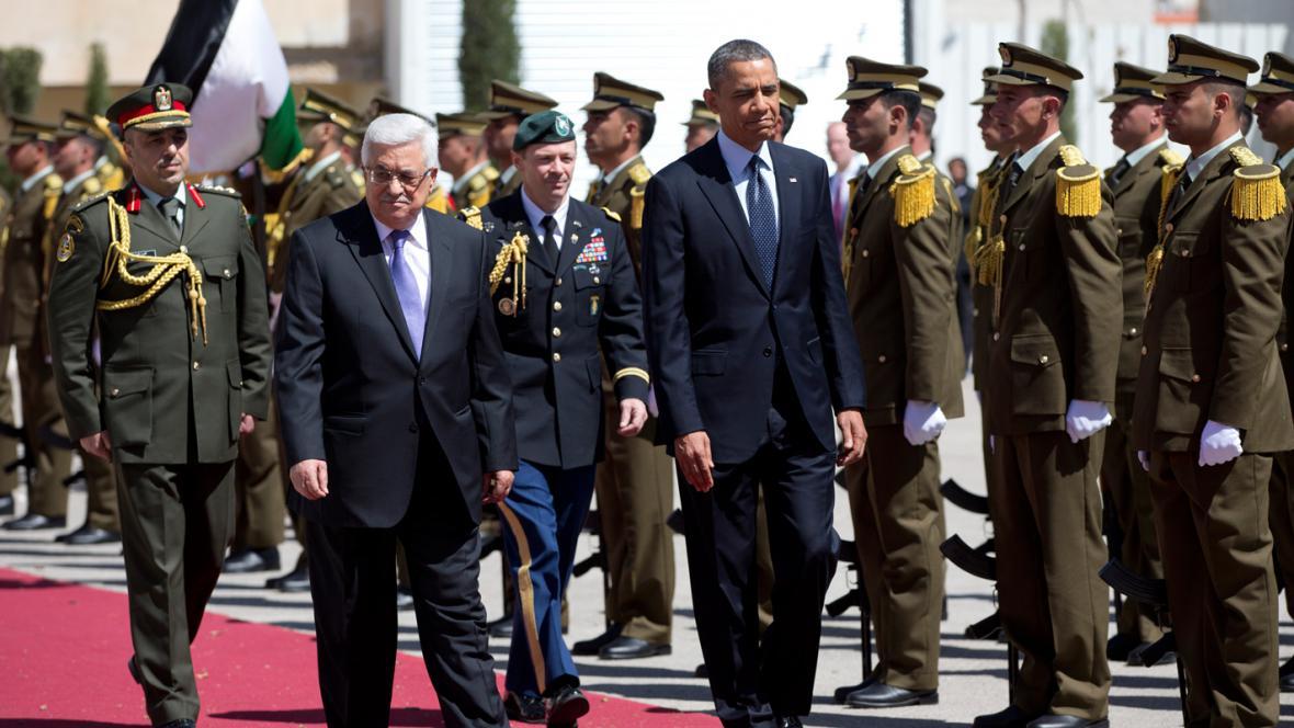 Barack Obama a Mahmúd Abbás