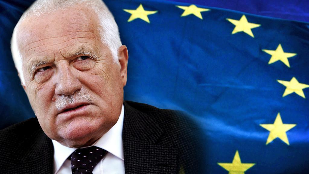 Václav Klaus a EU