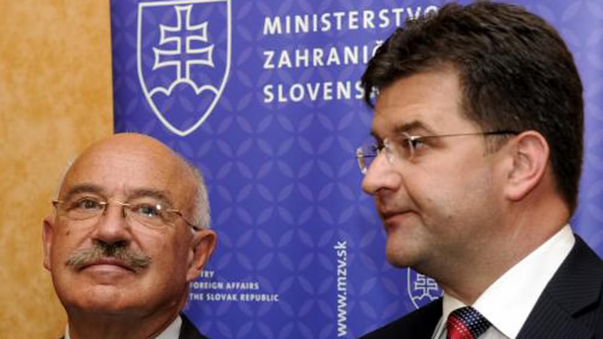 János Martonyi a Miroslav Lajčák