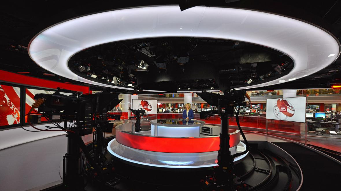 Nové zpravodajské studio BBC