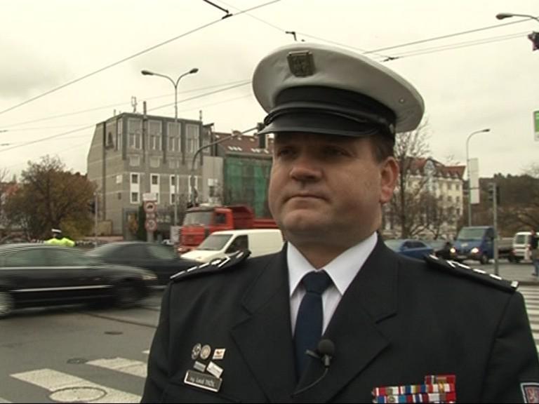 Ředitel dopravní policie Leoš Tržil