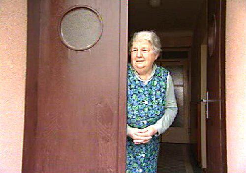 Důchodkyně z Terezína