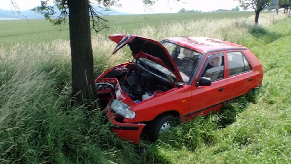 Objížďka je častým místem dopravních nehod
