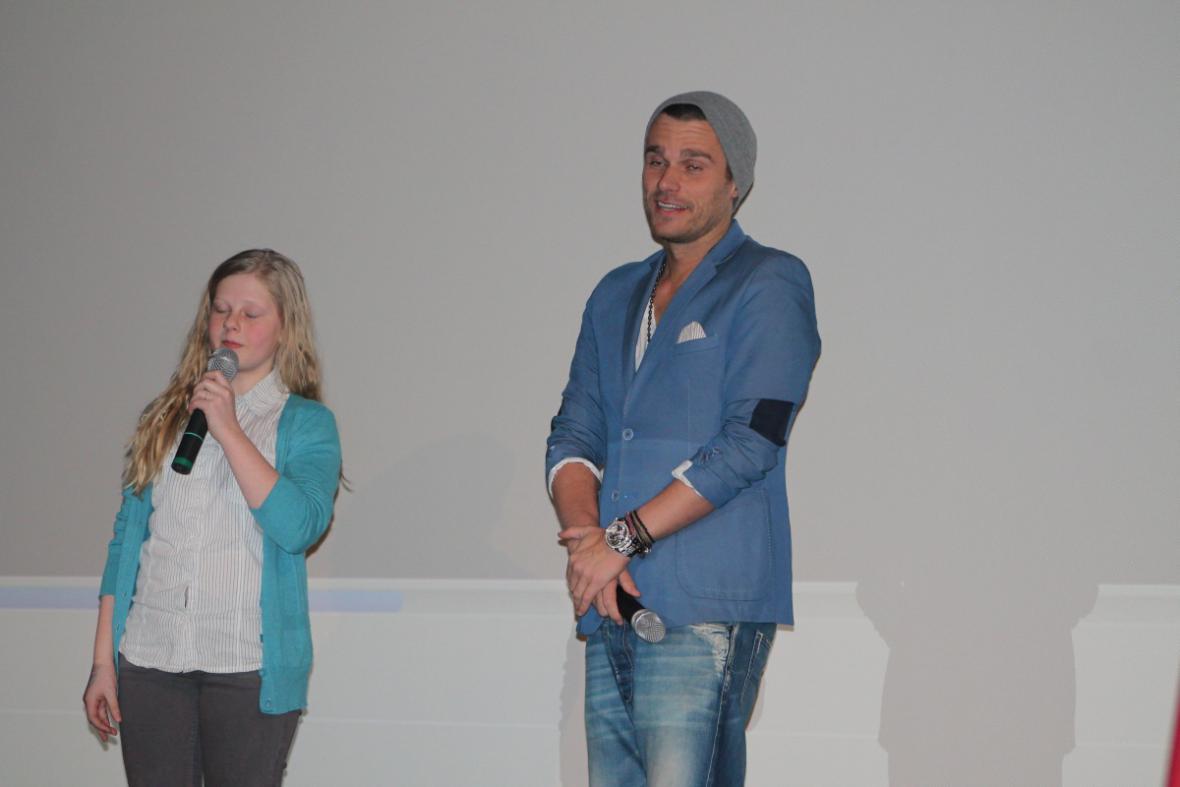 Stříbrná Barbora Horáková s Leošem Marešem