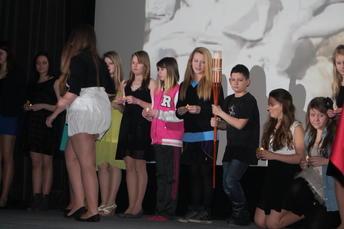 Slavnostní zahájení soutěže Mladý moderátor