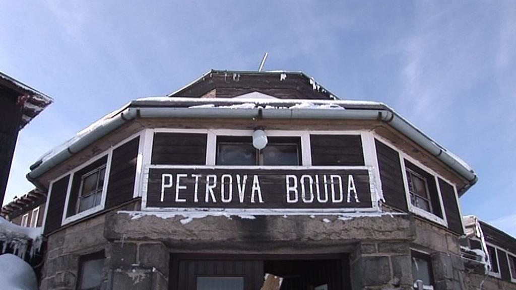 Petrova bouda před požárem