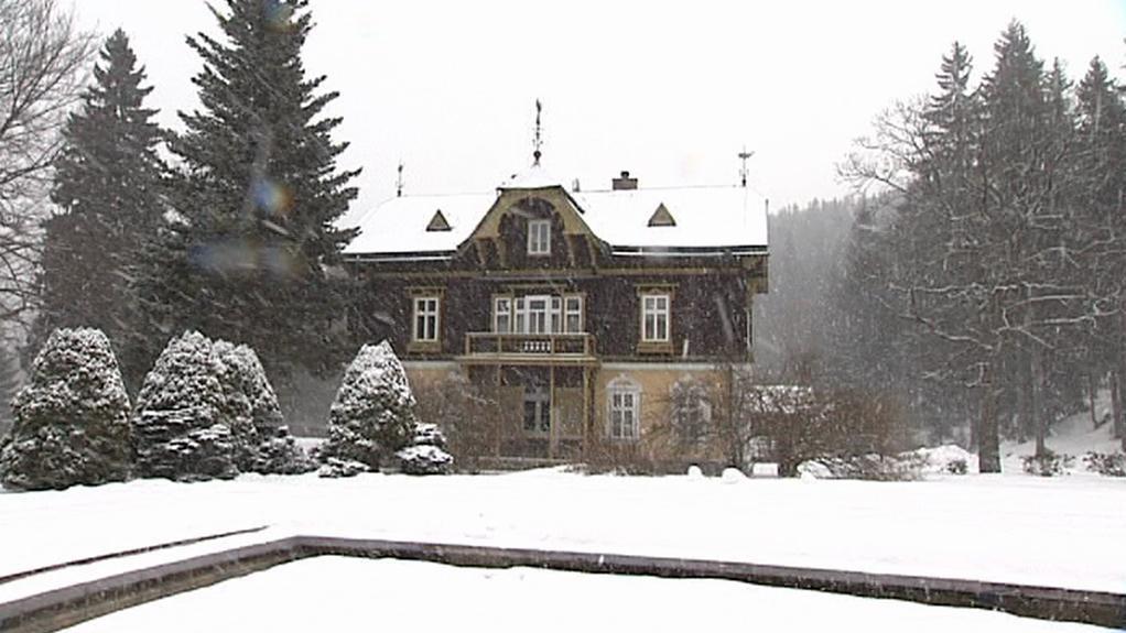 Historická vila Eugen v Karlově Studánce