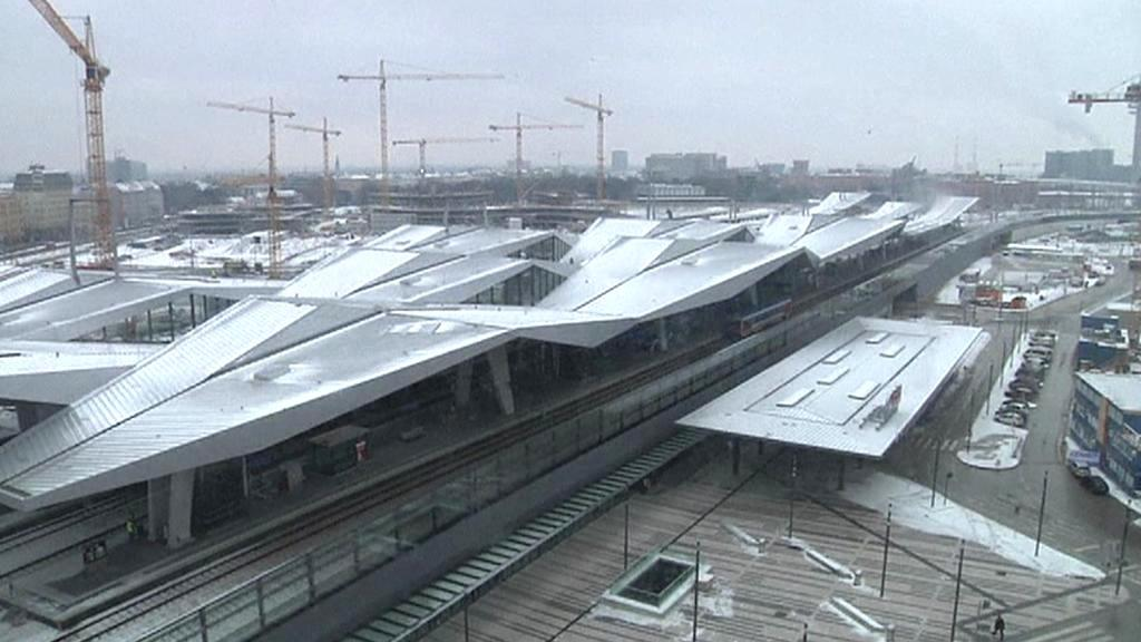 Projekt vídeňského nádraží