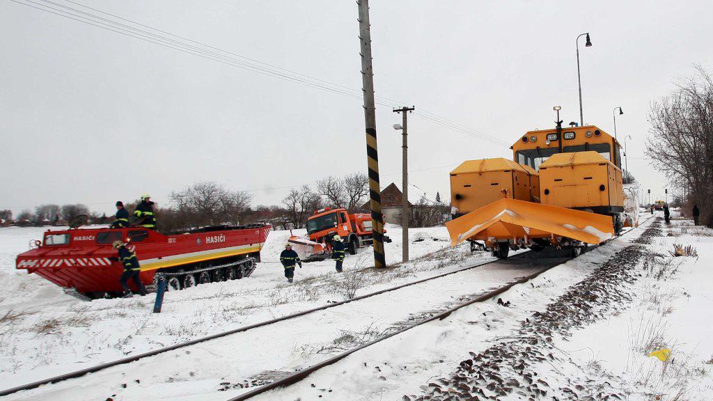 Sněhová situace na Slovensku