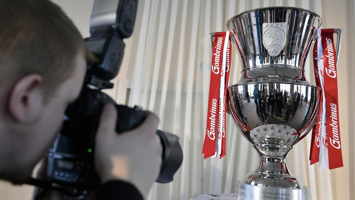Nová trofej pro vítěze Gambrinus ligy