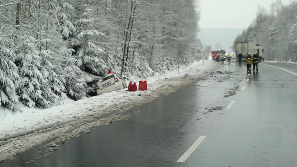 Nehoda u Humpolce