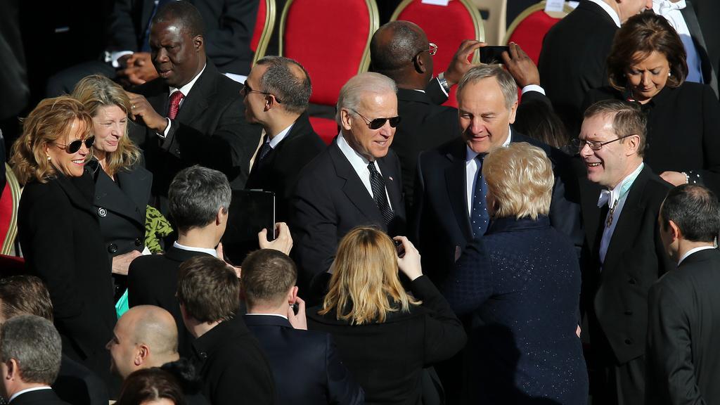 Delegaci USA vedl na inauguraci Joe Biden